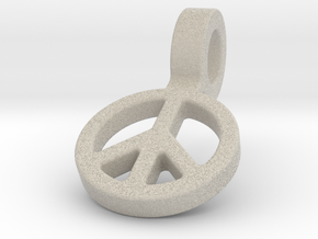 World Peace in Natural Sandstone