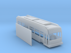N scale 1:160 New Flyer Xcelsior hybrid bus in Smooth Fine Detail Plastic