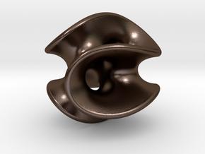 Chen-Gackstatter Surface in Polished Bronze Steel