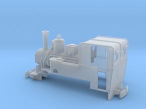 Feldbahn Dampflok Breitfeld & Danek Spur 0e/f 1:45 in Smooth Fine Detail Plastic