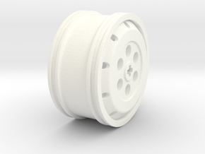Fulda Ecocontrol Twin Tire Single Rim in White Strong & Flexible Polished