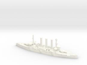 IJN Idzumo 1/2400 in White Processed Versatile Plastic