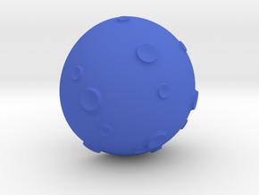 EarPod Earrings | Moon in Blue Processed Versatile Plastic