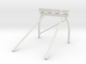 Nissan Desert Runner Rollbar in White Natural Versatile Plastic