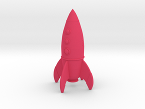 Rocket in Pink Processed Versatile Plastic