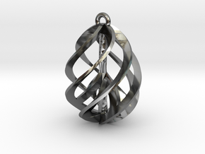 Peace Ascendant - 20mm in Fine Detail Polished Silver