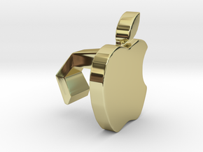 iMac Camera Cover - Apple in 18k Gold Plated Brass