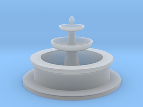 Tabletop: Minimal Water Fountain in Smooth Fine Detail Plastic