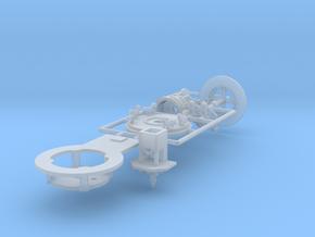 Minidoppelstock Antrieb - 1:220 (Z scale) in Smooth Fine Detail Plastic