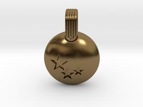 Stars in Polished Bronze
