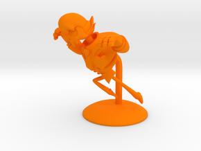 Mystery Skulls Lewis 6in in Orange Processed Versatile Plastic