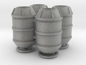 DeAgo Falcon Main Hold Floor Big  Barrels Nylon + in Metallic Plastic