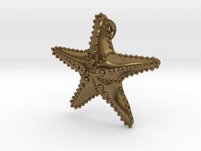 Starfish in Natural Bronze