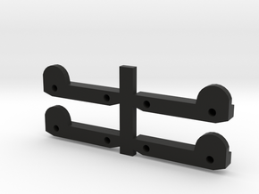 Axial SCX10 Door Handles (70s Bronco Style) in Black Strong & Flexible
