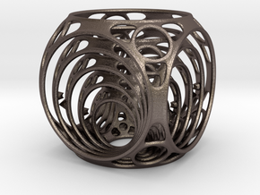 Gyro Air in Polished Bronzed Silver Steel