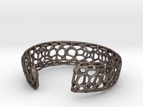 Frohr Design Bracelett Cell Cylce C in Polished Bronzed Silver Steel