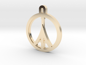 Paris Peace in 14K Yellow Gold