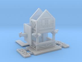 Fachwerkhausbude - 1:220 (Z scale) in Smooth Fine Detail Plastic