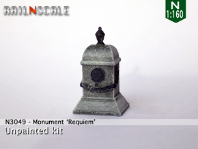 Monument Requiem (N 1:160) in Smooth Fine Detail Plastic
