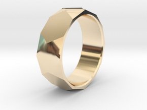 CODE WP6S - RING SIZE 7 in 14K Yellow Gold