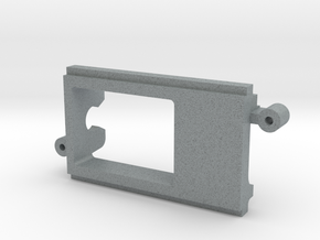 NC1 Motor Pod by PK-slot in Polished Metallic Plastic
