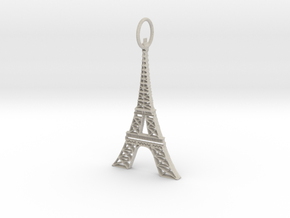 Eiffel Tower Earring Ornament in Natural Sandstone
