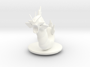 Gyarados  Pokemon in White Processed Versatile Plastic