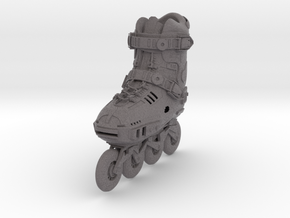 Free Style Roller Skate, heavily detailed in Full Color Sandstone