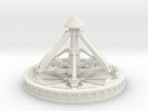 CM Docking Mech 1:10 Scale in White Natural Versatile Plastic