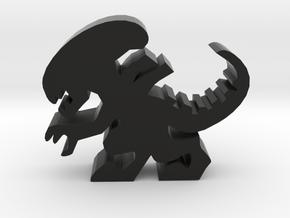 Stalker Alien Meeple in Black Strong & Flexible
