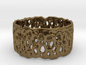 Frohr Design Cell Cycle Single in Polished Bronze
