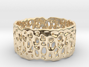Frohr Design Cell Cycle Single in 14k Gold Plated Brass