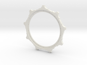 1/16 E-100 sprocket   in White Strong & Flexible
