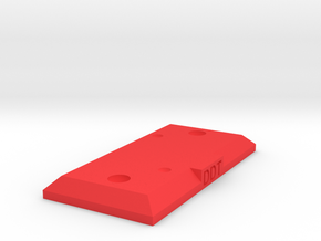 DDT Stand in Red Processed Versatile Plastic