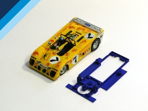 1/32 Sloter Lola T280 Chassis for Slot.it pod in White Natural Versatile Plastic