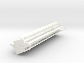 L/M 24 Foot Rigid header in White Processed Versatile Plastic