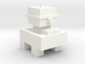 ESCAPE FAST COOP in White Processed Versatile Plastic