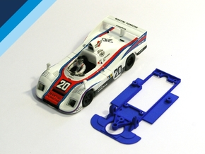 1/32 Spirit Porsche 936 Chassis for Slot.it pod in Blue Processed Versatile Plastic