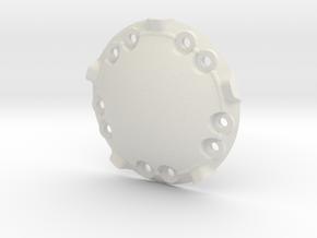 1/16 E-100 Drive Wheel Part 3  in White Natural Versatile Plastic
