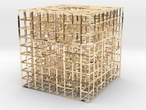 Wire Sponge 2 in 14K Gold