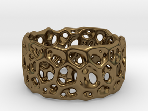 Frohr Design Bracelet Radiolaria Light in Polished Bronze