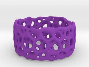 Frohr Design Bracelet Radiolaria Light in Purple Processed Versatile Plastic