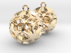 Orion-earrings in 14K Yellow Gold