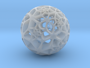 Flower of Life in Smooth Fine Detail Plastic