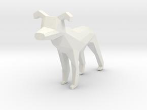 Dog Desk Buddy in White Strong & Flexible