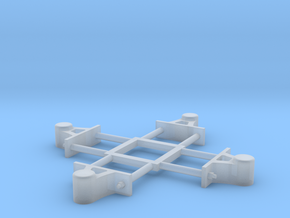 1:24 Heywood Light Axlebox Sprue in Smooth Fine Detail Plastic