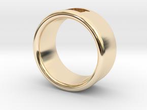 OREGON RING (17mm interior diameter) in 14K Yellow Gold