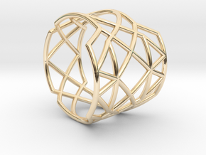 INTERSECTION Ring Nº21 in 14K Yellow Gold