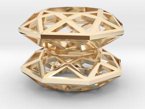 BRILLIANT - earrings in 14K Yellow Gold