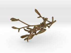 "Mistletoe- 4"" in Polished Bronze"
